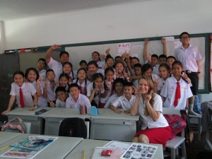 One of my classes in Thailand last year.