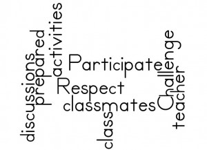 Wordle of Class Rules